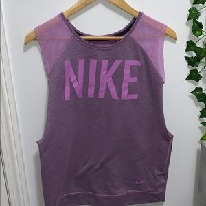 Nike Purple Work Out Top 🏋🏻♀️🥊🏀🚴🏻♀️